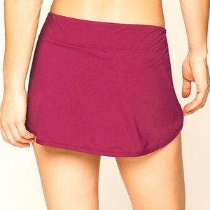 Athleta Exotic Fuchsia Swim Skirt